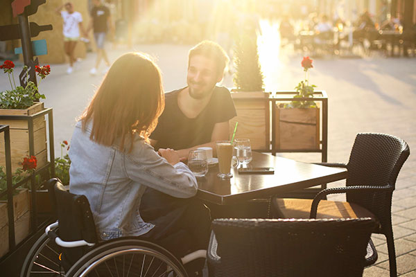 Namorar com uma deficiência